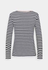 Esprit - HENLEY - Langærmede T-shirts - dark blue - 1