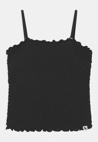 Abercrombie & Fitch - MAY BARE SMOCKED - Top - black - 0