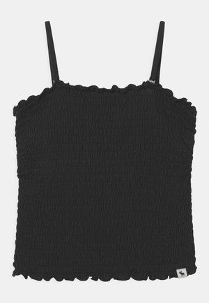 MAY BARE SMOCKED - Top - black