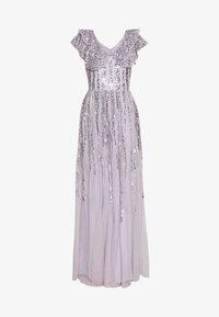 RUFFLE SLEEVE MAXI DRESS - Společenské šaty - soft lilac