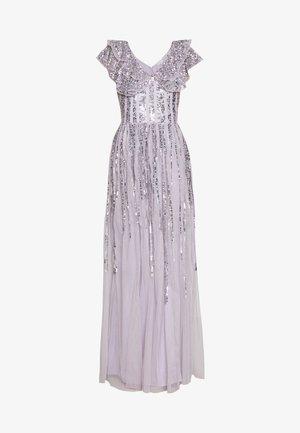 RUFFLE SLEEVE MAXI DRESS - Ballkleid - soft lilac