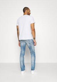 Tommy Jeans - SCANTON SLIM - Slim fit -farkut - wilson light blue - 2