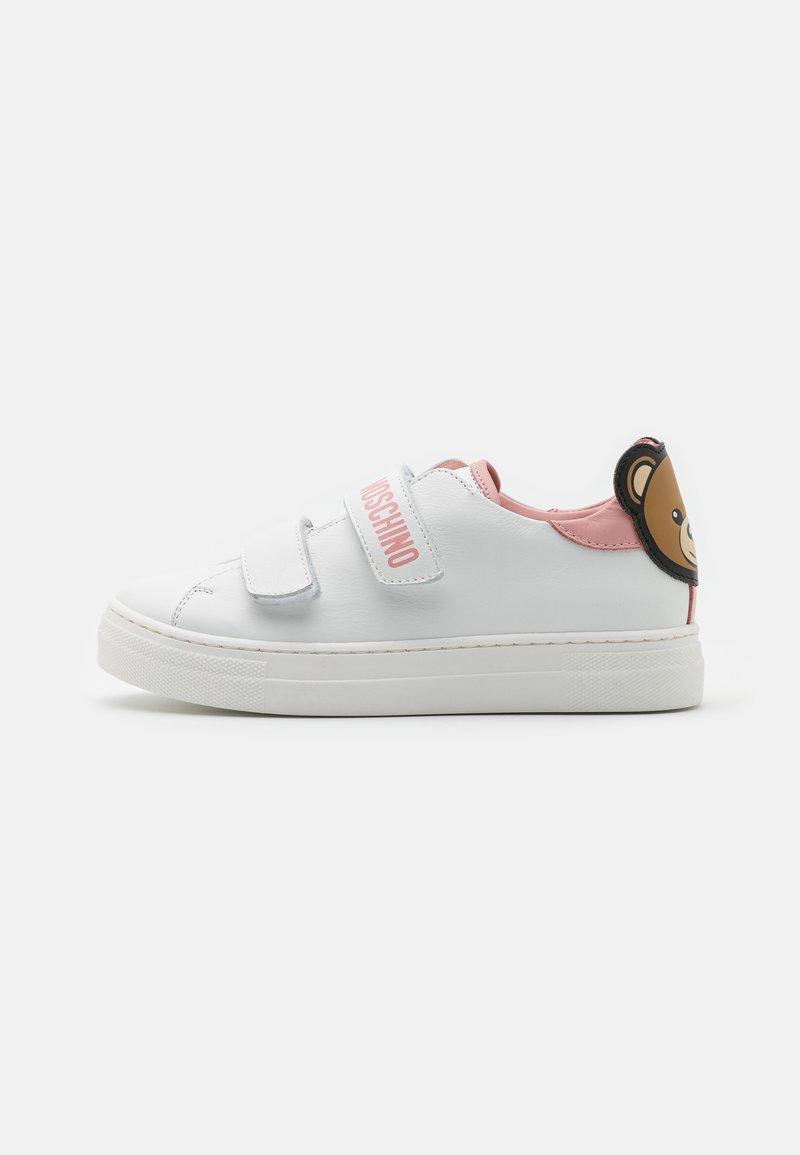 MOSCHINO - Tenisky - white/light pink
