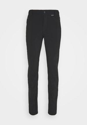 DORR - Kalhoty - black