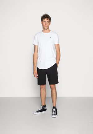 3 PACK - Camiseta básica - white/ grey /black