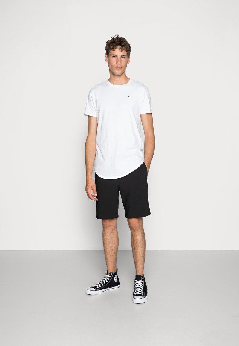 Hollister Co. - 3 PACK - Basic T-shirt - white/ grey /black