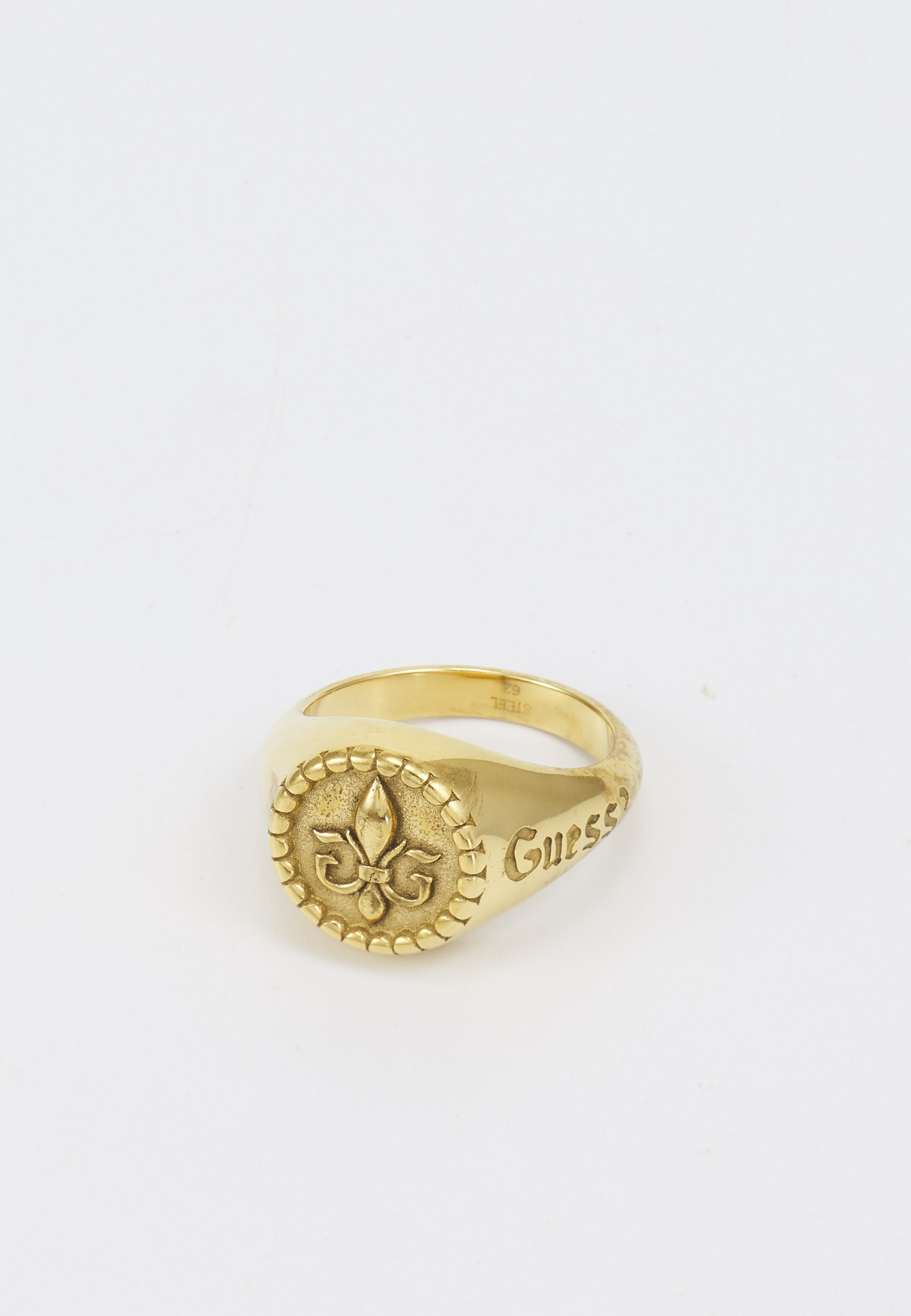 Homme ROUND SIGNET GIGLIO - Bague - antique gold-coloured