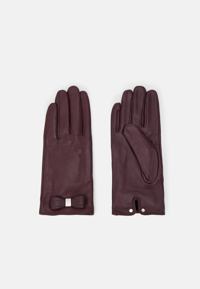 FRANNCA BOW DETAIL GLOVE - Handschoenen - purple