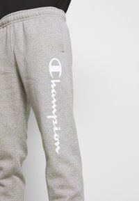 Champion - LEGACY CUFF PANTS - Tracksuit bottoms - mottled grey - 4