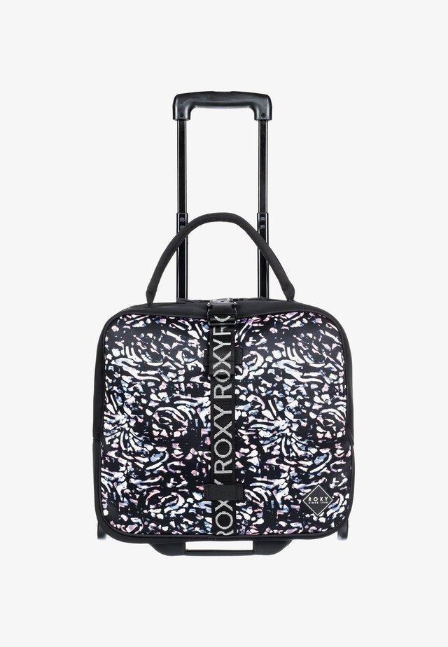 GEOMETRIC  - Wheeled suitcase - true black izi