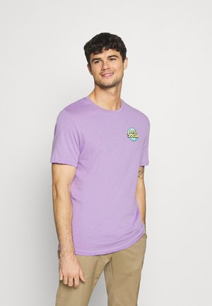 UNISEX ANTI SOCIA - T-shirts med print - lilac