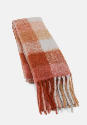 IBISCO CHECK - Scarf - light pink