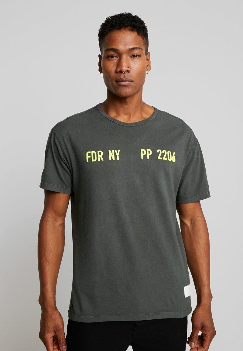 Replay Sportlab - T-shirt con stampa - dark green