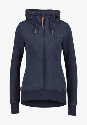 YASMIN - Zip-up hoodie - dark blue