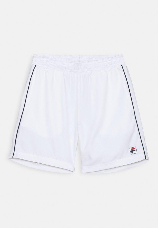 LEON BOYS - Sports shorts - white