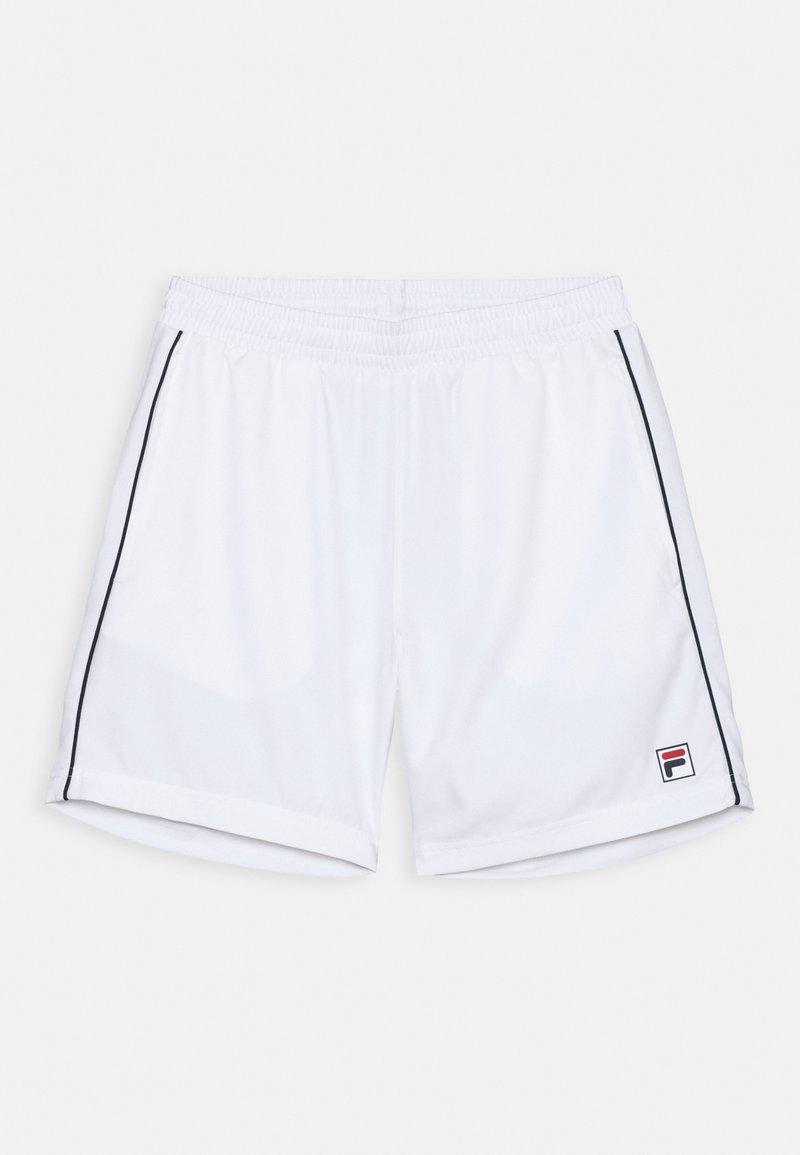 Fila - LEON BOYS - Sports shorts - white