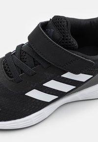 adidas Performance - DURAMO SL CLASSIC LIGHTMOTION RUNNING - Sports shoes - black/white - 5