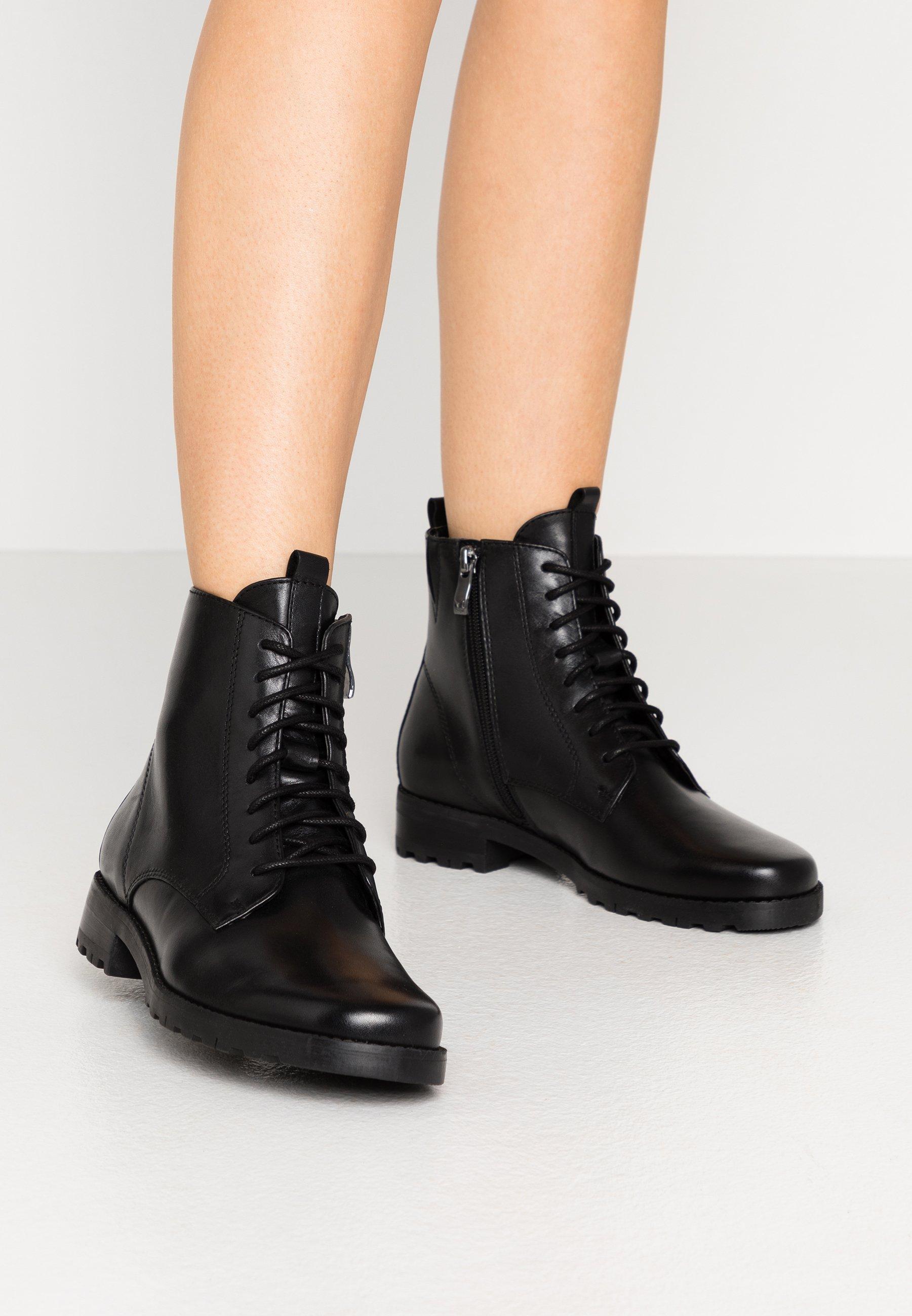 Wholesale Cheapest Caprice Lace-up ankle boots - black | women's shoes 2020 02C5u