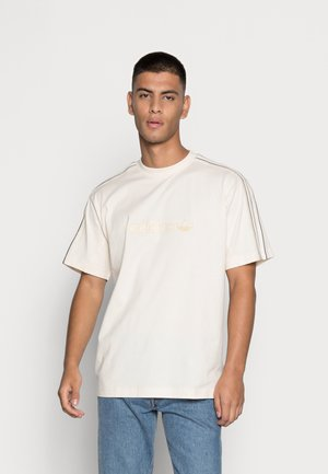 SHADOW STRIPE ORIGINALS SPRT COLLECTION T-SHIRT - T-shirt con stampa - white/black