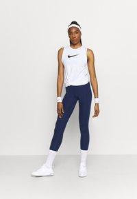 Nike Performance - TANK OPEN - Camiseta de deporte - white - 1