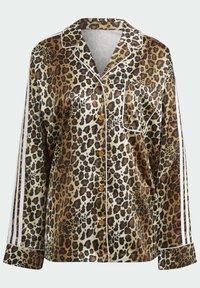 adidas Originals - LEOPARD - Button-down blouse - brown - 7