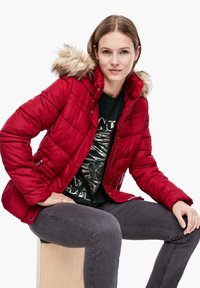 QS by s.Oliver - Winter jacket - brick red - 5