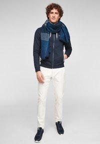 s.Oliver - Scarf - dark blue stripes - 1