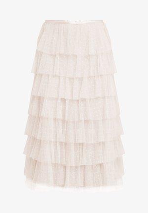 NEVE RUFFLE BALLERINA SKIRT - A-linjekjol - pearl rose