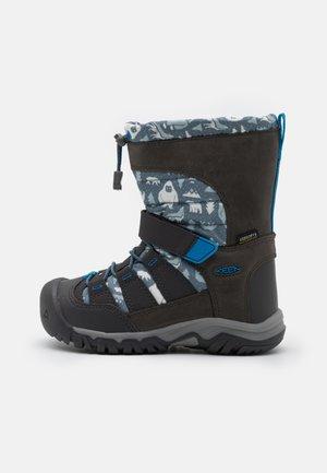 WINTERPORT NEO DT WP UNISEX - Winter boots - steel grey/brilliant blue