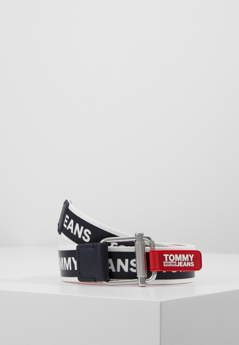 Tommy Jeans - LOGO TAPE BELT - Belt - blue