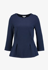 STRUCTURE CREW-NECK - Long sleeved top - sky captain blue