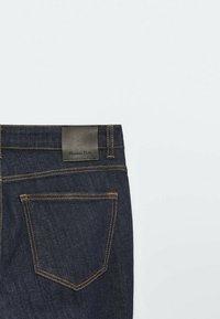 Massimo Dutti - Jeans Skinny Fit - dark blue - 5