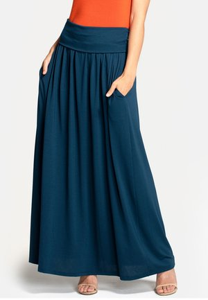 Pleated skirt - Woodland Teal