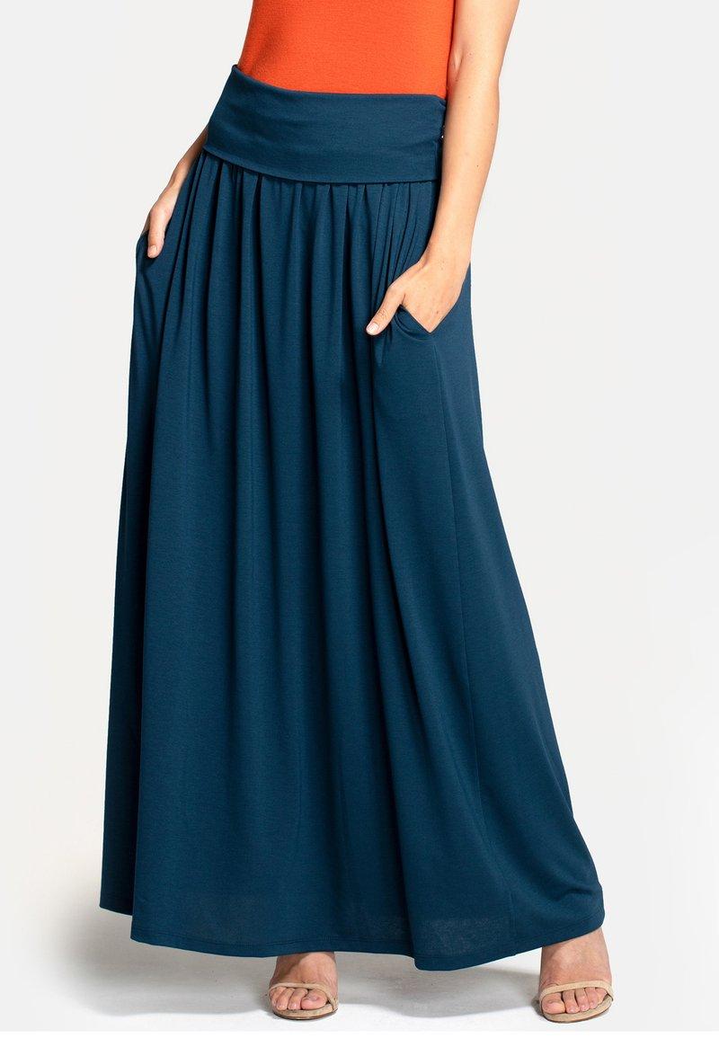 HotSquash - Pleated skirt - Woodland Teal