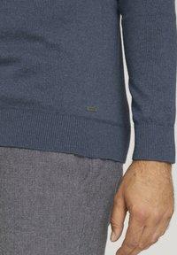 TOM TAILOR - Sweatshirt - vintage indigo blue melange - 4