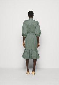 Bruuns Bazaar - BASIL GALLIANA DRESS - Shirt dress - moss - 2