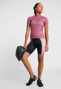 ODLO - STAND UP COLLAR FULL ZIP FUJIN PRINT - T-Shirt print - roan rouge - 1