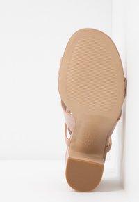 New Look - SWIRLEY - High heeled sandals - oatmeal - 6