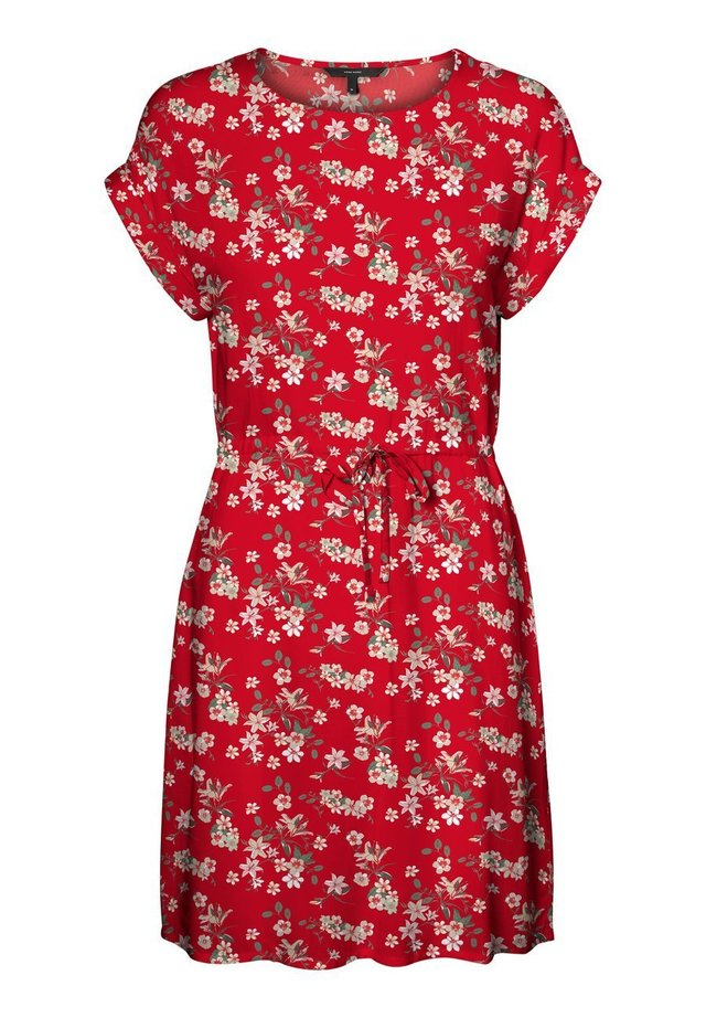 Day dress - goji berry