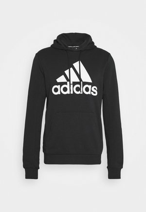 ESSENTIALS SPORTS INSPIRED HOODED - Bluza z kapturem - black