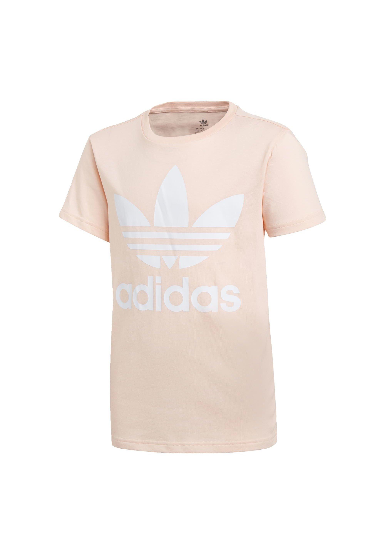 adidas Originals ADICOLOR LARGE LOGO T-SHIRT - T-shirts med print - pink