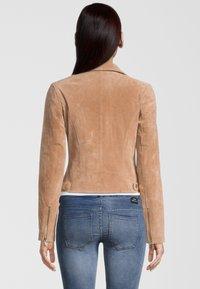 Rino&Pelle - DAMINA - Leather jacket - tan - 1
