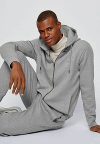 BOSS - Zip-up hoodie - grey - 4
