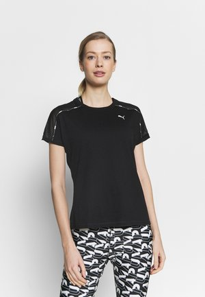 TRAIN LOGO BOYFRIEND TEE - Print T-shirt - black