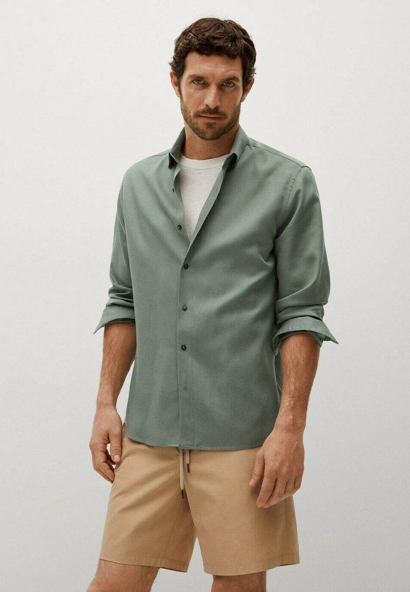 Mango - Camisa - khaki