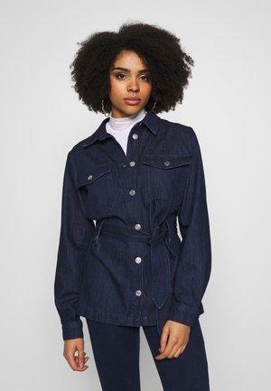 SLFDANA JACKET  - Denim jacket - dark blue denim
