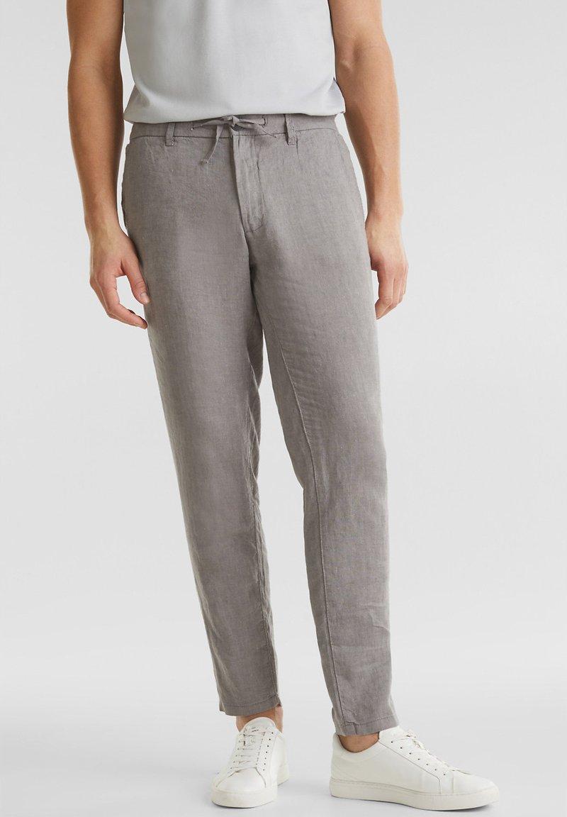 Esprit - Trousers - grey