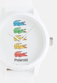 Lacoste - POLAROID COLLAB UNISEX - Montre - white