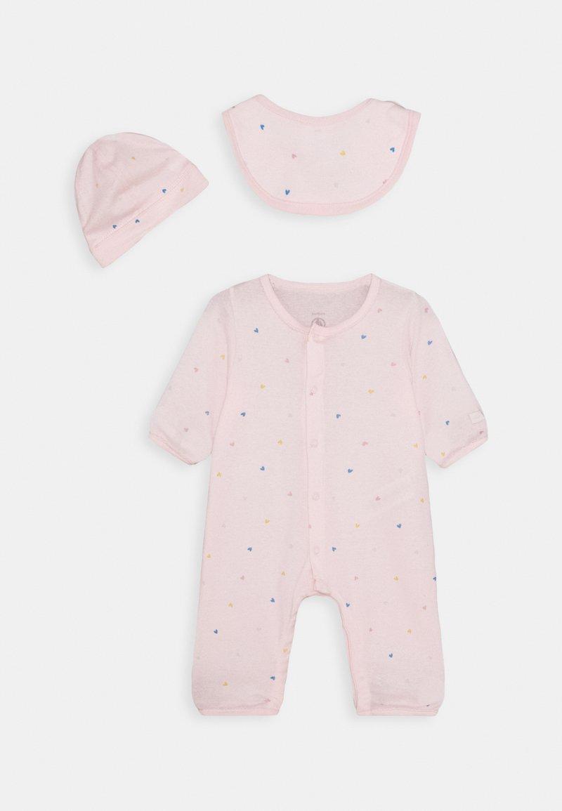 Petit Bateau - LOT CADEAUX SET - Body - pink