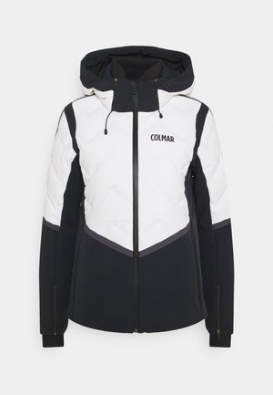 Ski jacket - white/black